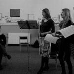 Rehearsals with the New London Consort