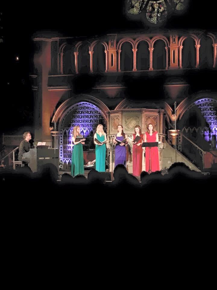 Celeste performing at the Congregational Church Islington